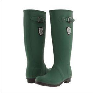KAMIK Jennifer Tall Green Rain Boots Size 7